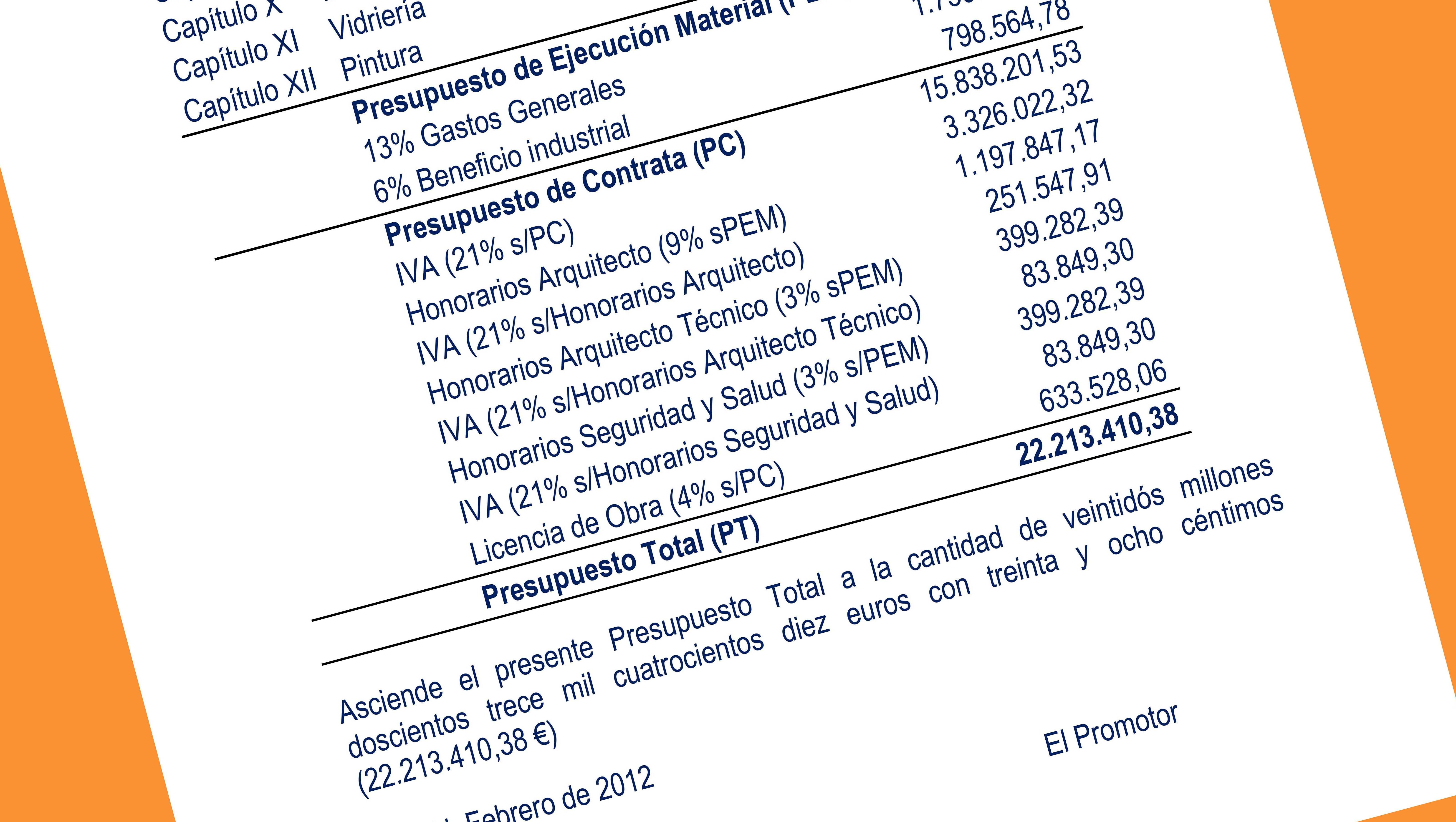 Presupuesto de contrata - Presupuesto vivienda unifamiliar ...