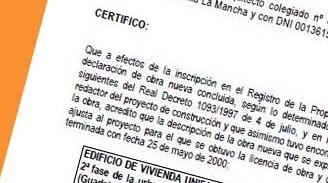 C mo se hace el certificado de arquitecto para una for Honorarios arquitecto vivienda unifamiliar