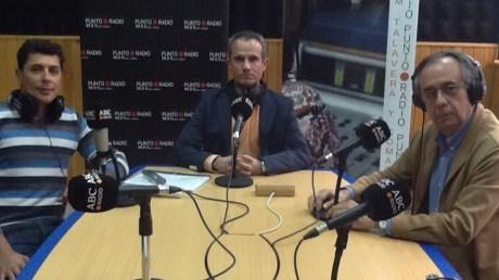Raúl Gutiérrez, Aurelio López y Luis Jurado