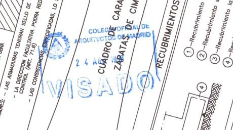 23 sello visado